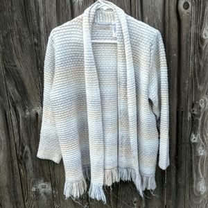 Alfred Dunner Open Cardigan 1X Plus
